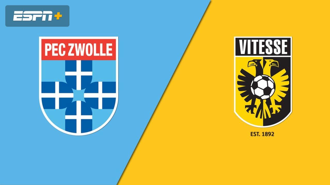 Pec Zwolle Vs Vitesse Eredivisie Watch Espn