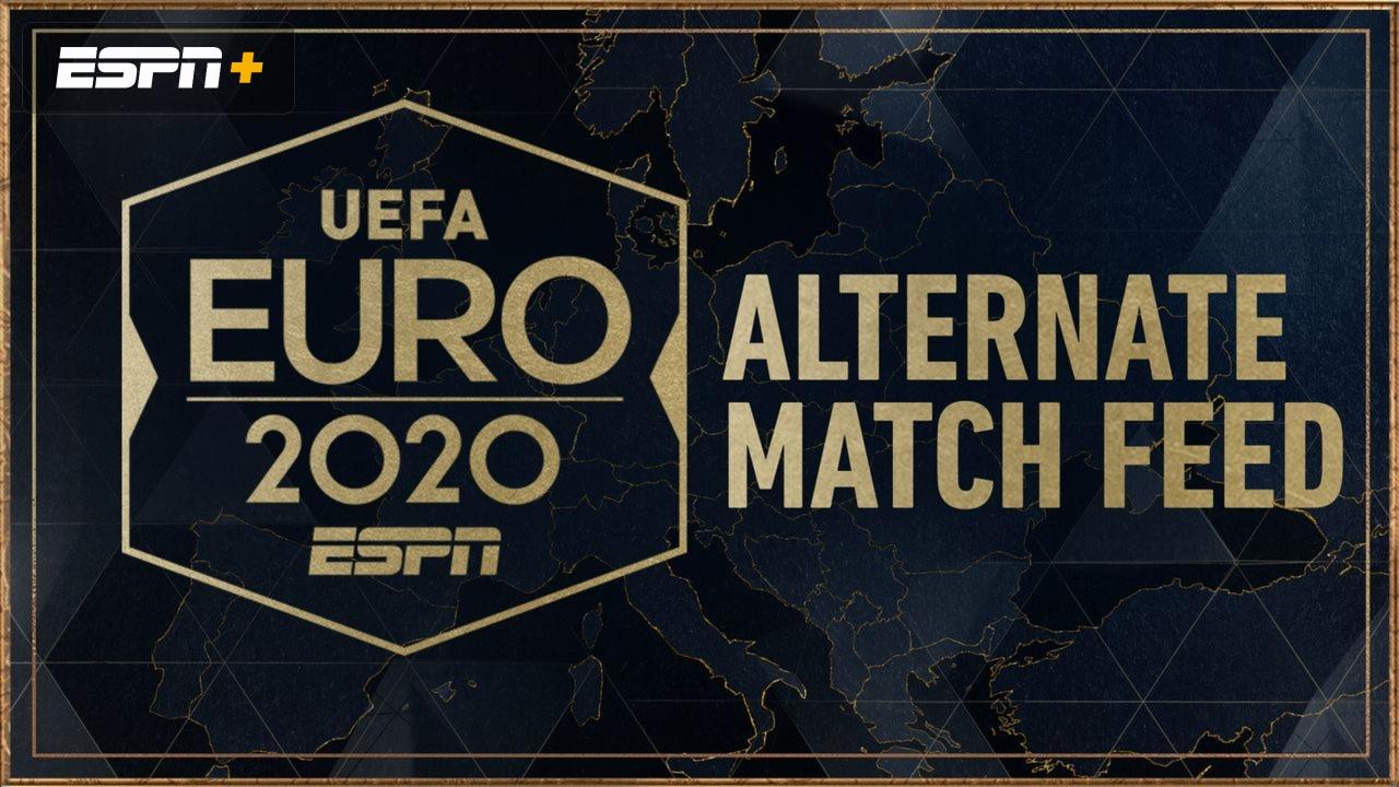 ALTERNATE FEED - England vs. Croatia (Group D) UEFA EURO 2020 | Watch ESPN