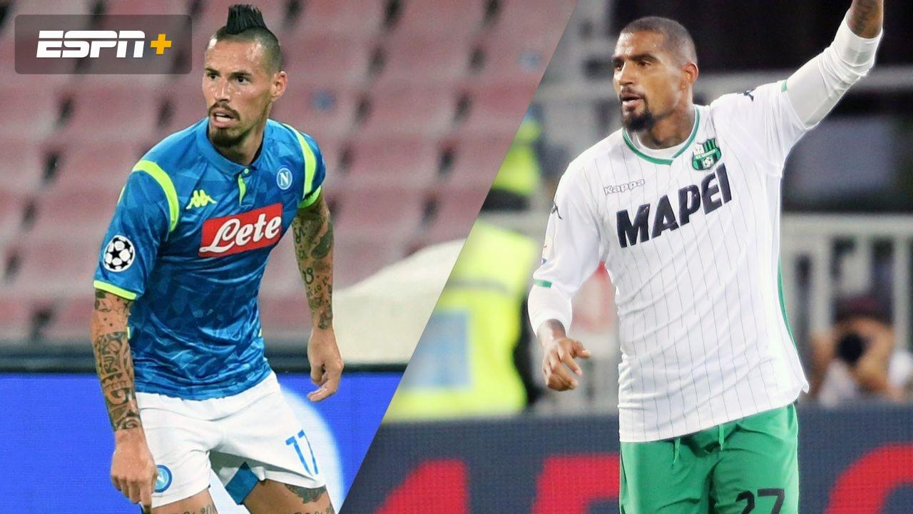 Napoli vs. Sassuolo (Round of 16) (Coppa Italia)