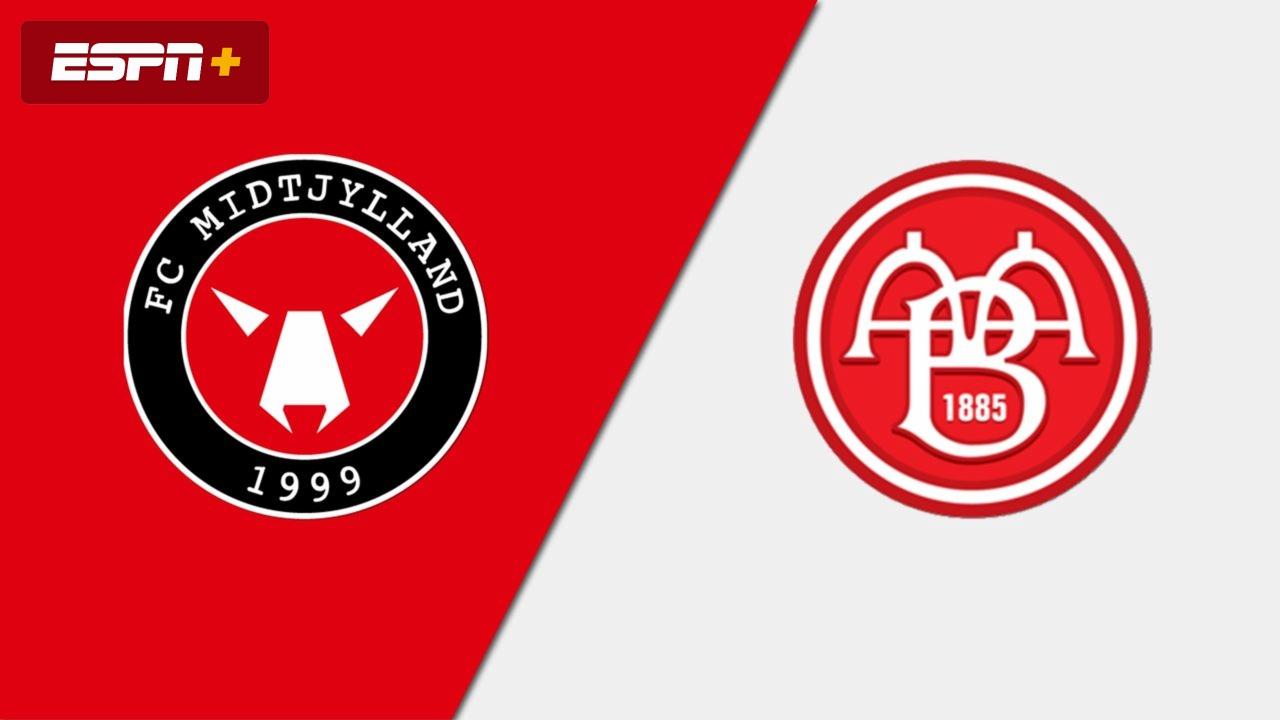 Fc Midtylland Vs Aab Danish Superliga Watch Espn