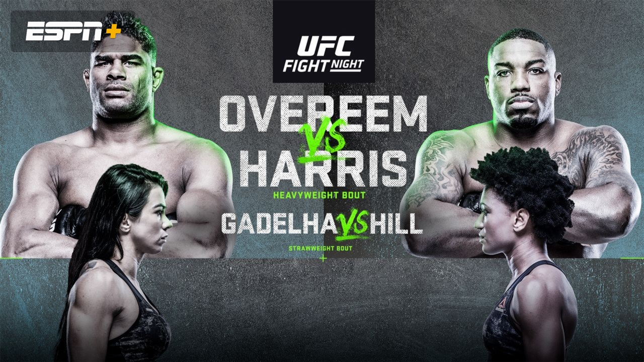 Ufc Fight Night Presented By Modelo Overeem Vs Harris Watch Espn