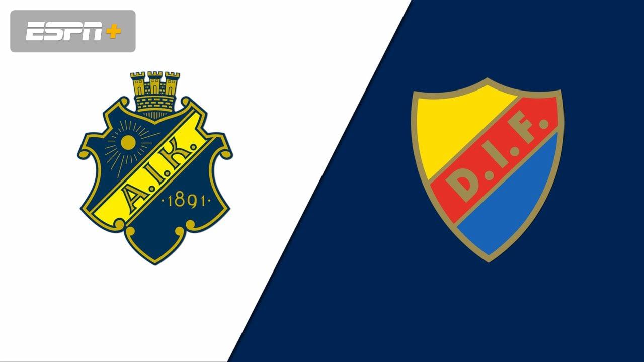 Aik Fotboll Vs Djurgardens If Allsvenskan Watch Espn