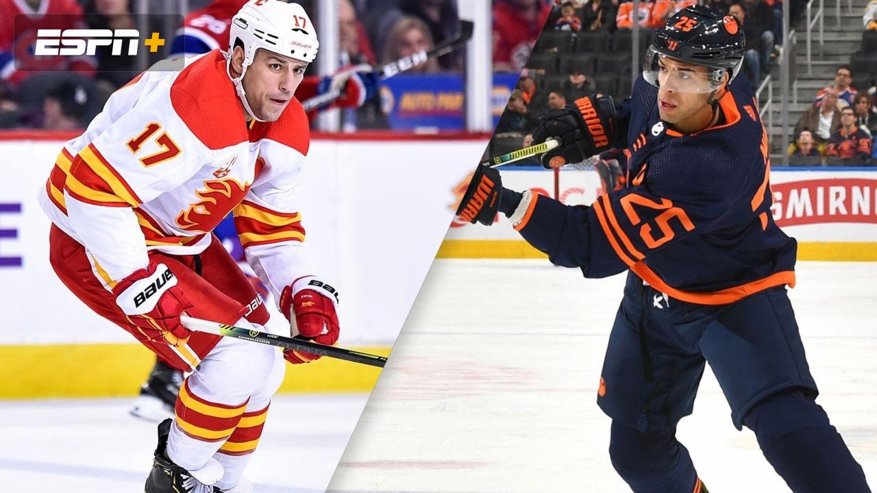Calgary Flames Vs Edmonton Oilers Watch Espn