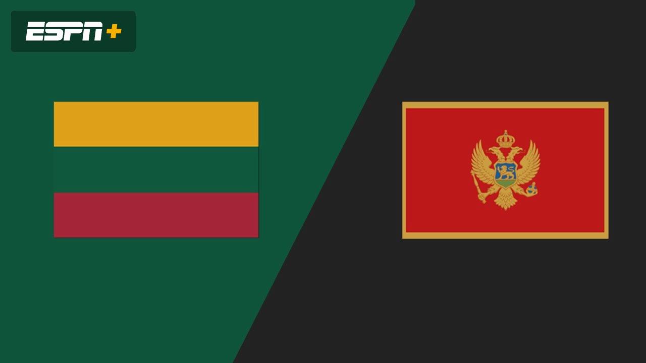 Lithuania Vs Montenegro Uefa Nations League Watch Espn
