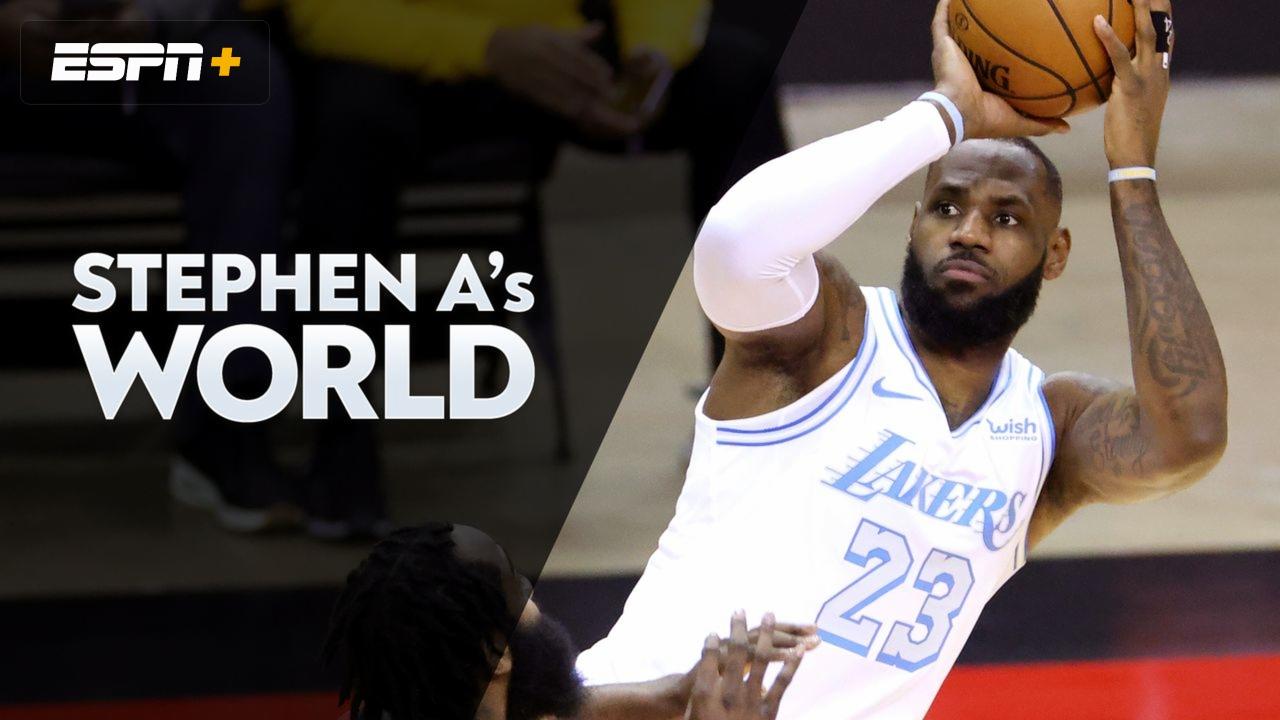Thu, 1/14 - Stephen A's World | Watch ESPN