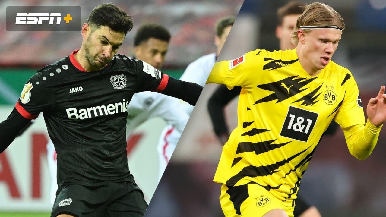 In Spanish Bayer Leverkusen Vs Borussia Dortmund Bundesliga Watch Espn