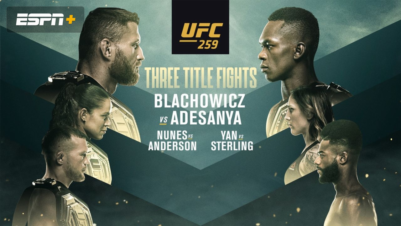 UFC 259: Blachowicz vs Adesanya - Reddit MMA Streams Live, How to Watch Online, Time, Fight Card