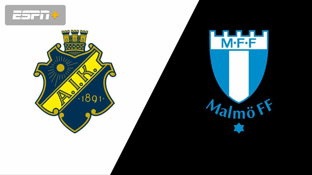 Aik Fotboll Vs Malmo Ff Allsvenskan Watch Espn