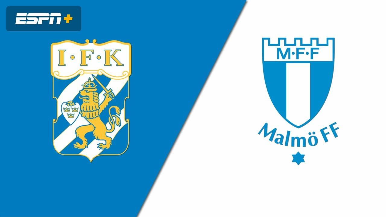 Ifk Gothenborg Vs Malmo Ff Allsvenskan Espn Play