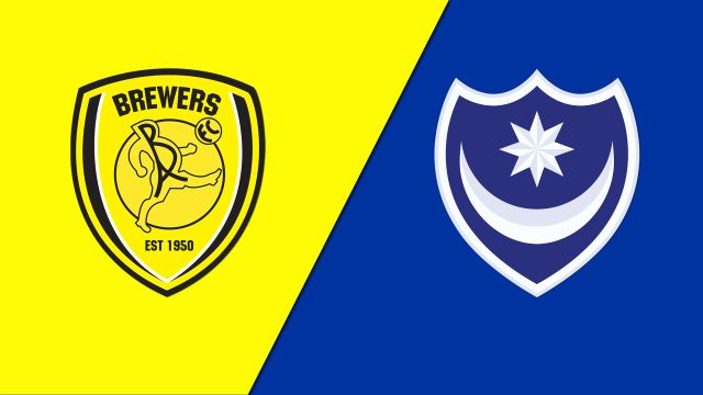 Burton Albion vs. Portsmouth (English League One)