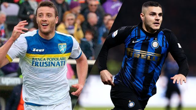 Frosinone vs. Internazionale (Serie A)