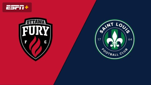 Ottawa Fury FC vs. Saint Louis FC (USL Championship)