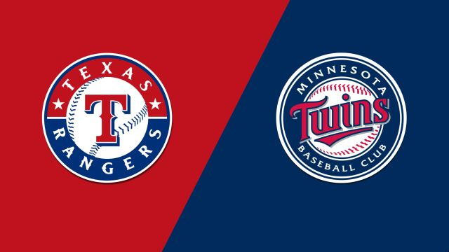 Texas Rangers vs. Minnesota Twins