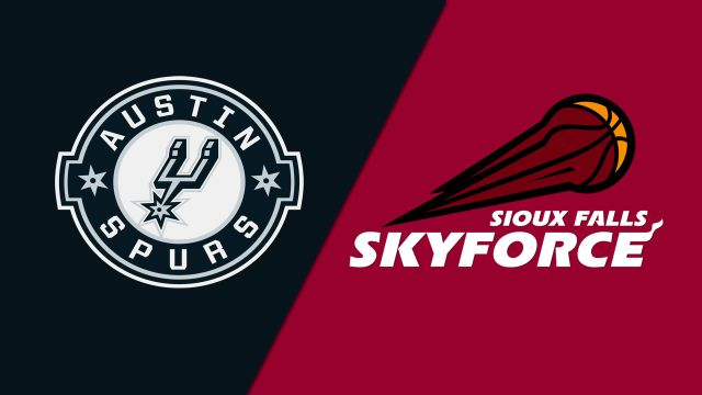 Austin Spurs vs. Sioux Falls Skyforce