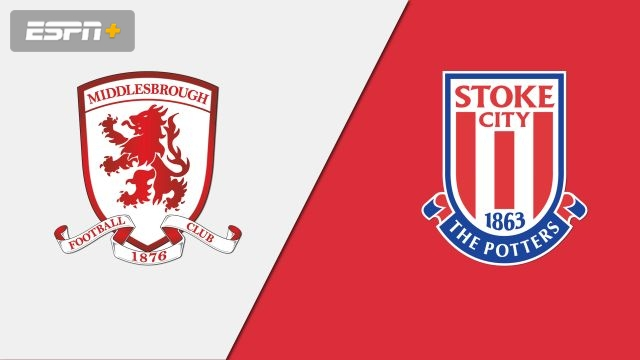 Middlesbrough vs. Stoke City (English League Championship)