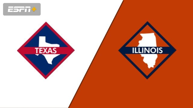 Texas vs. Illinois (Pool A - Game 3)