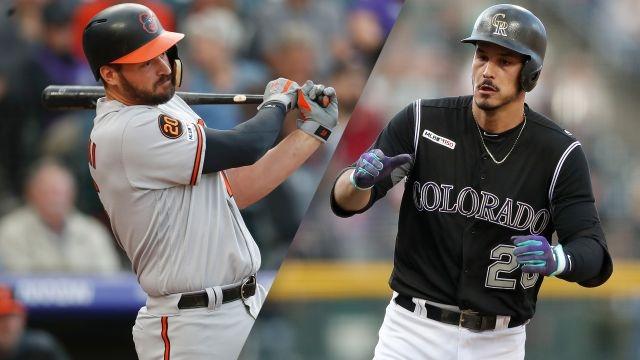 Baltimore Orioles vs. Colorado Rockies