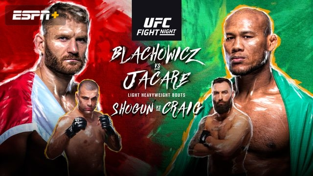 UFC Fight Night: Blachowicz vs. Jacare