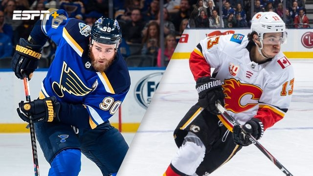St. Louis Blues vs. Calgary Flames