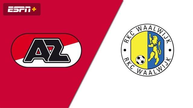 AZ Alkmaar vs. RKC Waalwijk (Eredivisie)