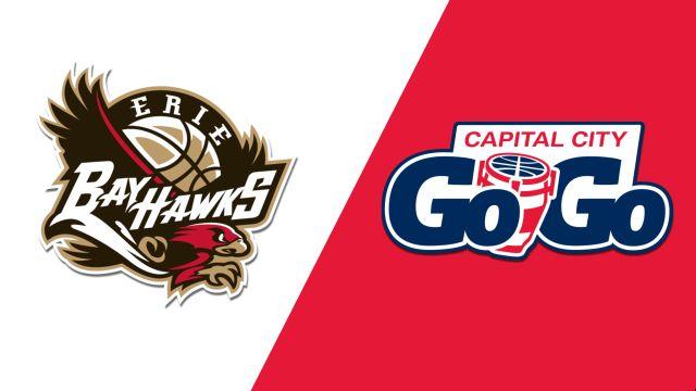 Erie BayHawks vs. Capital City Go-Go