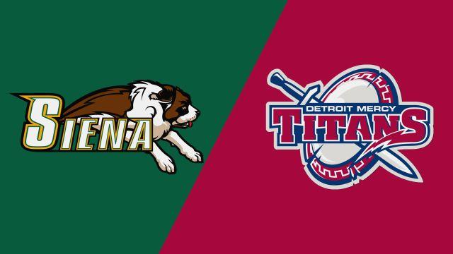 Siena vs. Detroit Mercy (M Lacrosse)