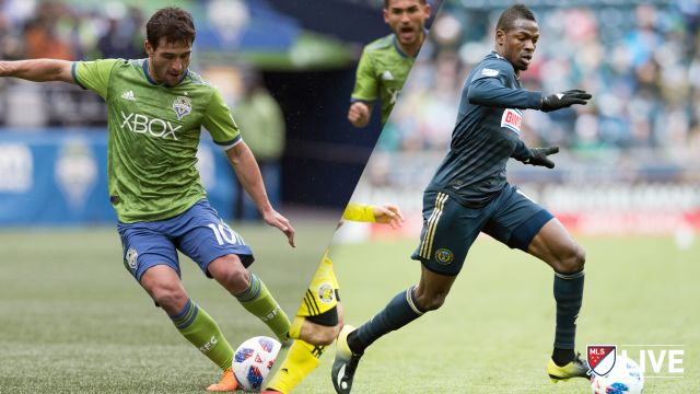 Seattle Sounders FC vs. Philadelphia Union