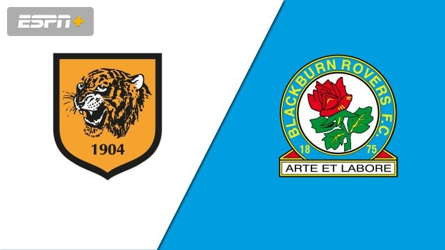 Hull City vs. Blackburn Rovers (English League Championship)