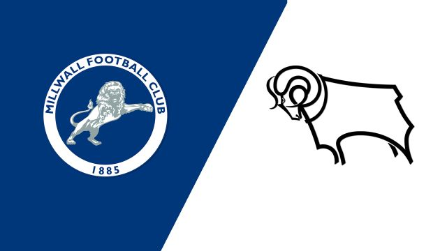 Millwall vs. Derby County (English League Championship)