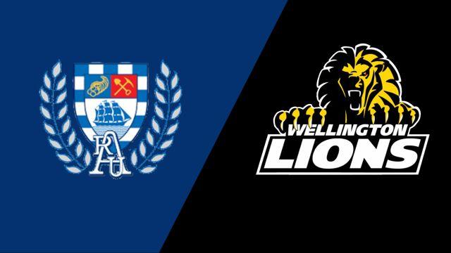 Auckland vs. Wellington (Premiership Semifinal)