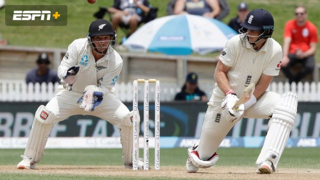 New Zealand vs. England (2nd Test - Day 5)