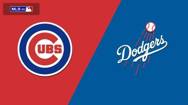 Chicago Cubs vs. Los Angeles Dodgers