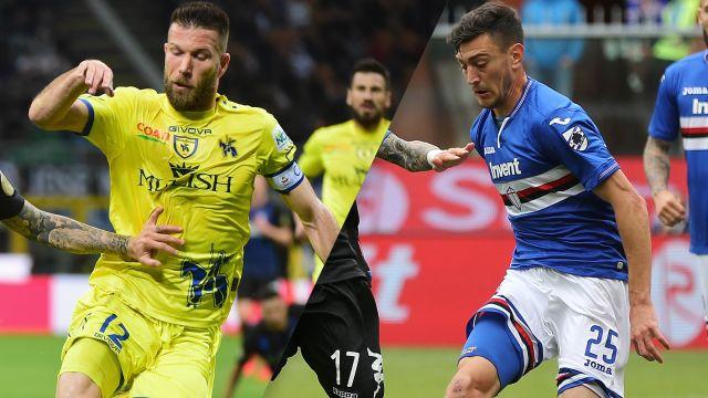 Chievo vs. Sampdoria (Serie A)