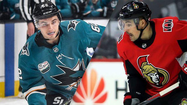 San Jose Sharks vs. Ottawa Senators
