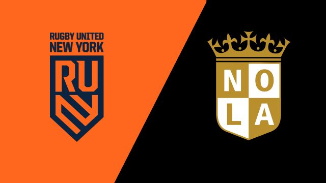 Rugby United New York vs. NOLA Gold (Major League Rugby)