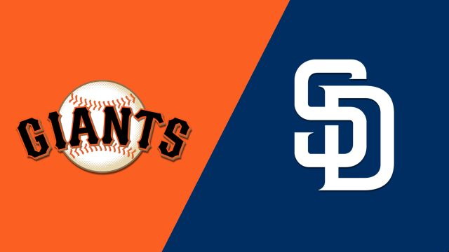San Francisco Giants vs. San Diego Padres