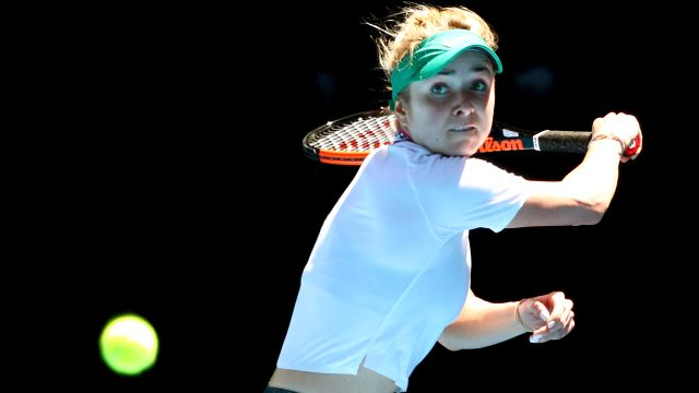 (6) Svitolina vs. (17) Keys (Women's Fourth Round)