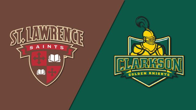 St. Lawrence vs. #1 Clarkson (W Hockey)
