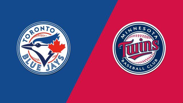 Toronto Blue Jays vs. Minnesota Twins