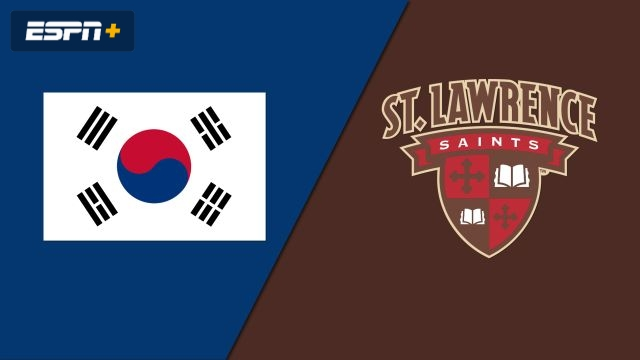 Korean National Team vs. St. Lawrence (W Hockey)