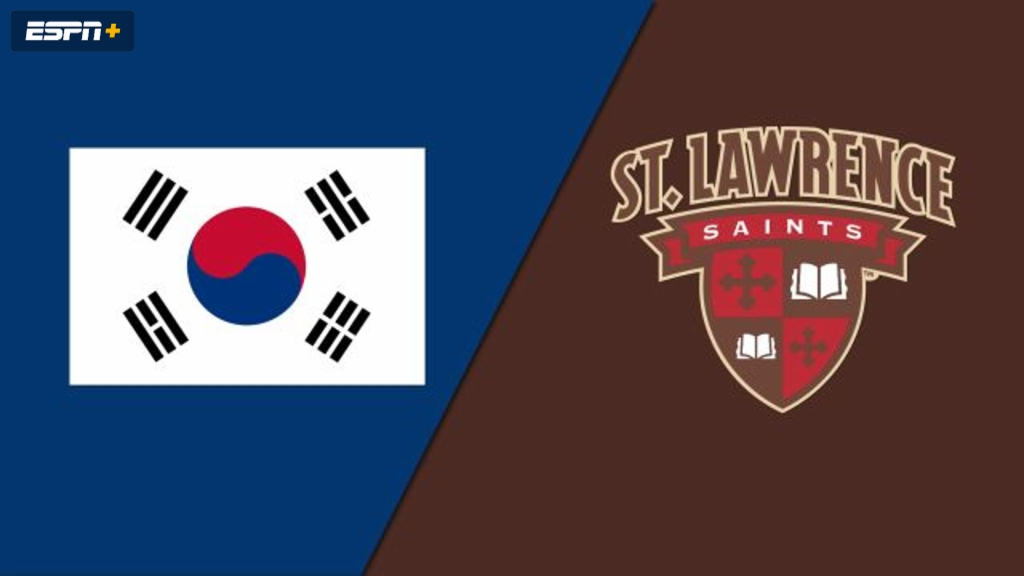 Korean National Team vs. St. Lawrence (W Hockey)