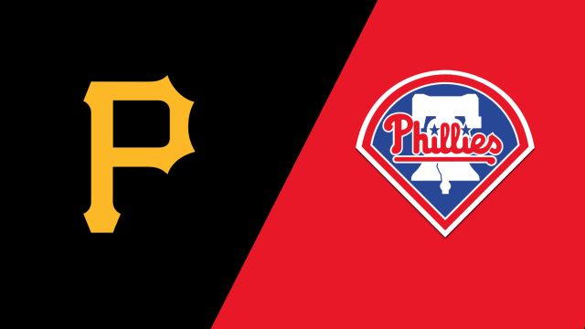 Pittsburgh Pirates vs. Philadelphia Phillies