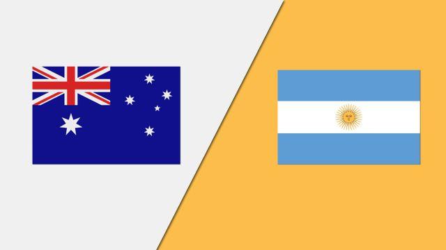 Australia vs. Argentina (Group Phase)