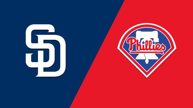 San Diego Padres vs. Philadelphia Phillies