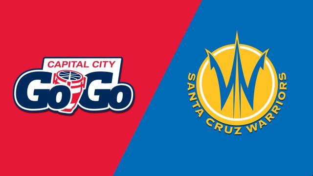 Capital City Go-Go vs. Santa Cruz Warriors