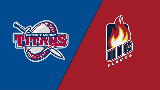 Detroit Mercy vs. UIC (M Basketball)