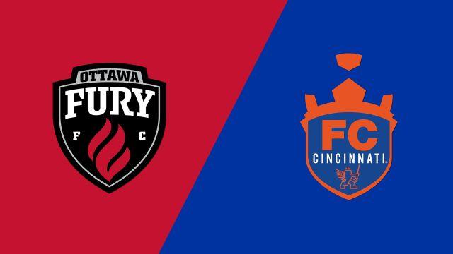 Ottawa Fury FC vs FC Cincinnati
