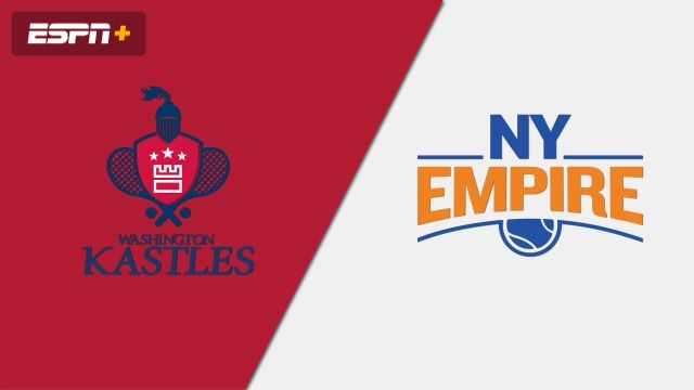 Washington Kastles vs. New York Empire