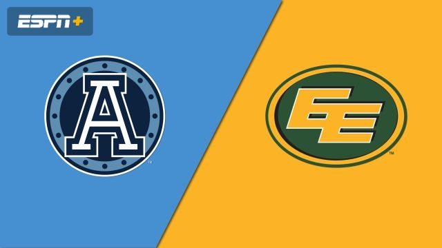 Toronto Argonauts vs. Edmonton Eskimos (Canadian Football League)