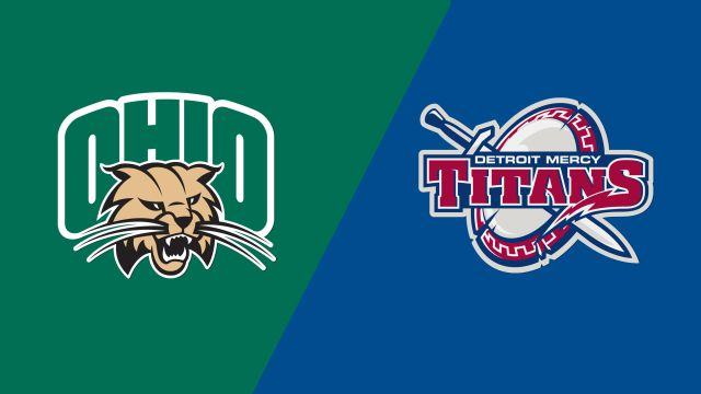 Ohio University vs. Detroit Mercy (M Basketball)